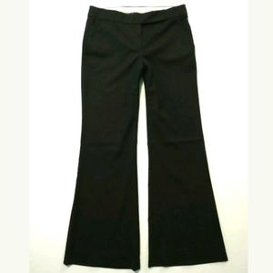 Theory career pants Wool blend Black Flare trouser